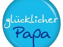 glücklicher Papa Button Ansteckbutton 37mm für die lieben Verwandten
